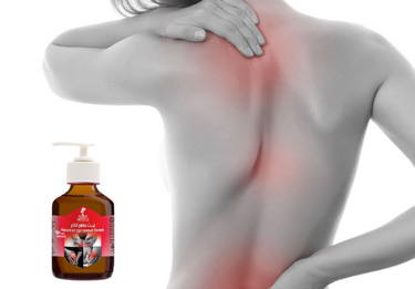 Relieving pain oil