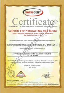Nefertiti ISO 14001 2015