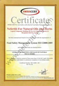 Nefertiti ISO 22000 2005