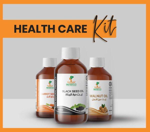 Nefertiti NaturalOilsHerbs Health Care Kit En 1