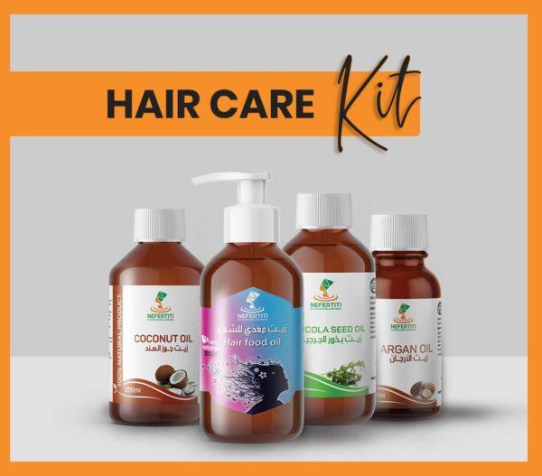 Nefertiti NaturalOilsHerbs Hair Care Kit En 1