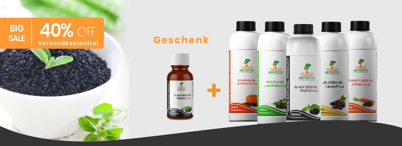 40% Discount Nefertiti oil plus 125ml bottle and free shipping worldwide