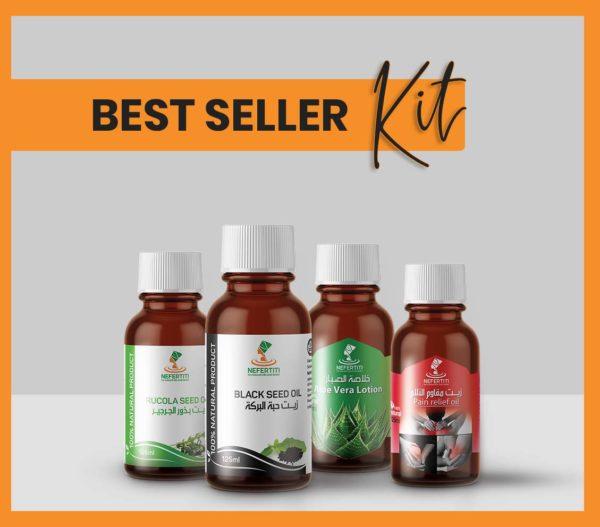 Nefertiti NaturalOilsHerbs for Best Seller Kit En