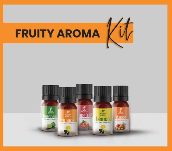 Nefertiti NaturalOilsHerbs for Fruity Aroma Kit En