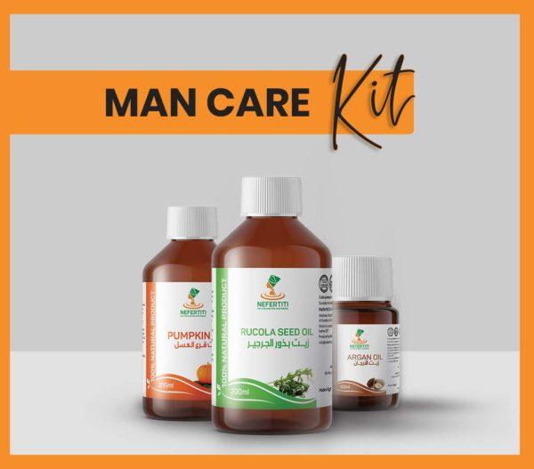 Nefertiti NaturalOilsHerbs for Man Care Kit En 3