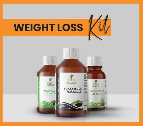 Nefertiti NaturalOilsHerbs for Weight Loss Kit En 1